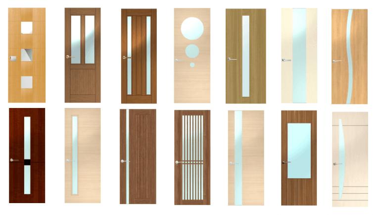 安田建材株式会社のオーダードアのデザイン