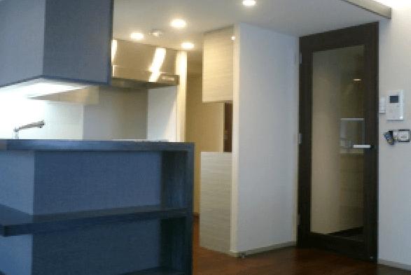 神奈川県横浜市の分譲マンションのモデルルーム施工事例1 (4)