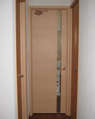 リフォームドア後の室内写真