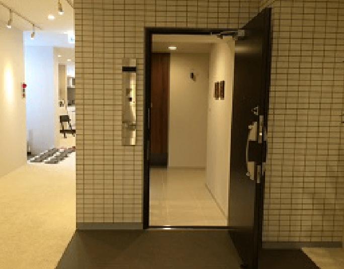 東京都のモデルルームでの施工事例1