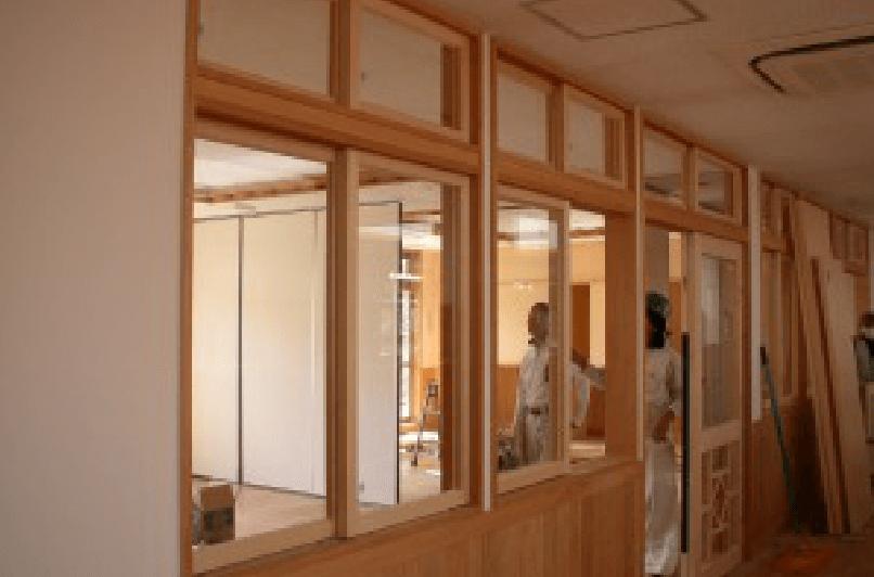 神奈川県横浜市の公立保育園新築工事での施工事例3