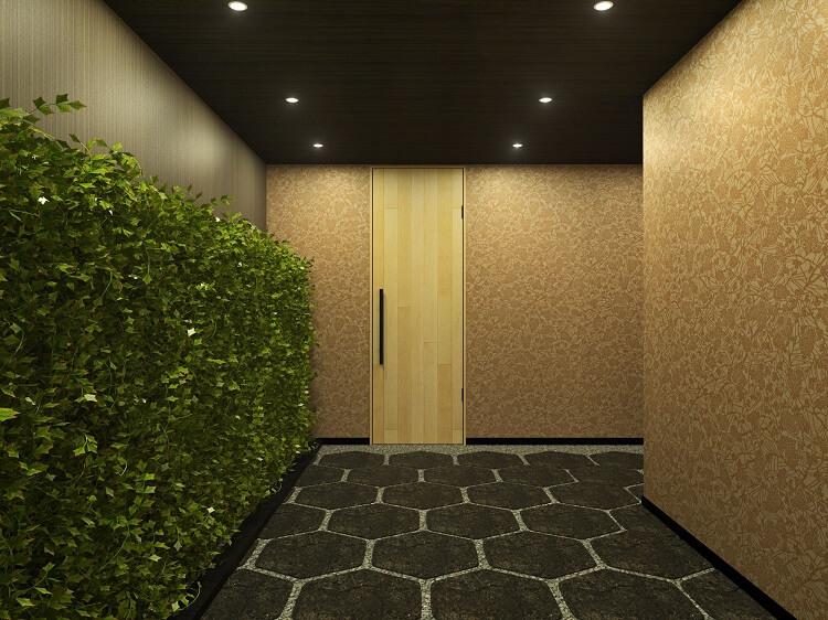 フローリング材・パネリング材貼りドア1